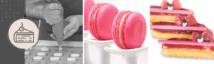Quick and Simple Macarons and Eclairs Class